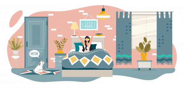 good-morning-bedroom-happy-woman-wake-up-bed-home-after-sleep-people-healthy-rest-lifestyle-illustration_169479-319